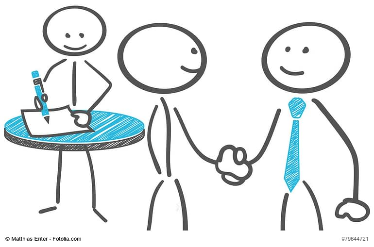 Bewerbungsgesprächen